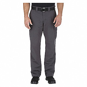 "Mens Cargo Pants,Size 40"" x 36"",Charcoal"