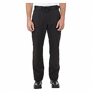 "Mens Cargo Pants,Size 28"" x 34"",Black"
