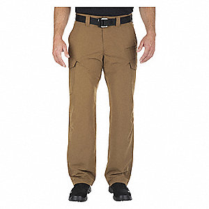 "Men's Cargo Pants. Size: 34"" x 36"", Fits Waist Size: 34"", Inseam: 36"", Battle Brown"