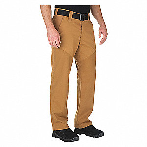 "Stonecutter Pants. Size: 44"" x 32"", Fits Waist Size: 44"", Inseam: 32"", Brown"