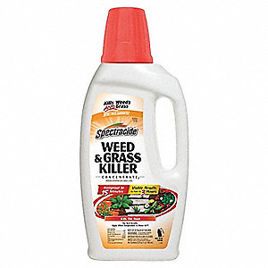 32 oz. Concentrate Grass and Weed Killer; Covers 3000 sq. ft.