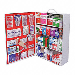 First Aid Kit, Steel Case Material, General Purpose