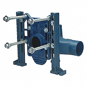 Cast Iron Toilet Carrier, For Use With Wall Hung Toilets, For Use With Grainger Item Number 46CD74,