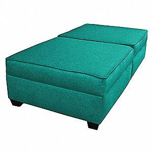Duobed Storage Bench 60w Green Upholstery 52nc63imftwb30 Jl