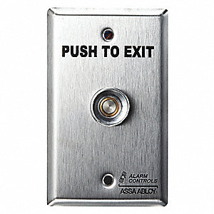 Exit Delay Timer,Push to Exit Button,SS