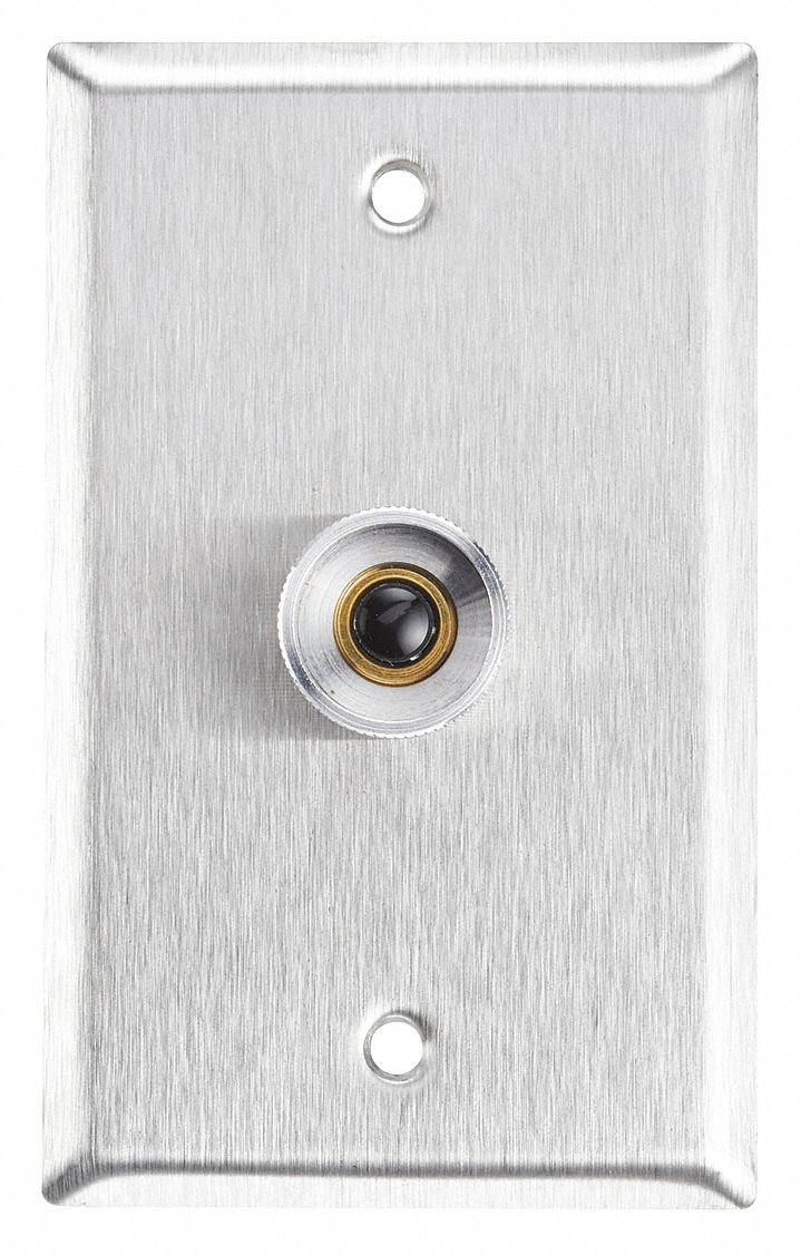 Wall Plate, Single Gang, Stainless Steel
