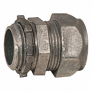 "Compression Connector,3/4"" Conduit Size"