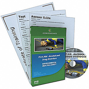 Alcohol and Drug Overdose Training ,DVD
