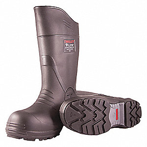 Rubber Boot,  Men's,  11,  Knee,  Composite Toe Type