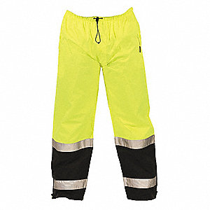 "Hi-Vis Pants,48"" to 50"" Waist Size"