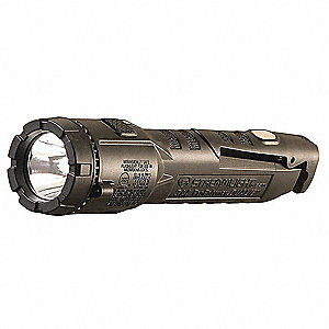 Handheld Flashlight,Black,245/140 lm