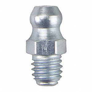 Fitting,Straight,M6x1mm Thread Size,PK10
