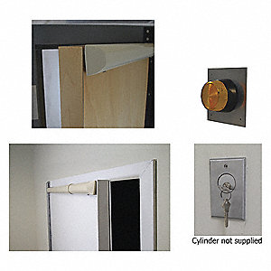 "Door Alarm Kit,RHR,For 42"" to 48""W Doors"