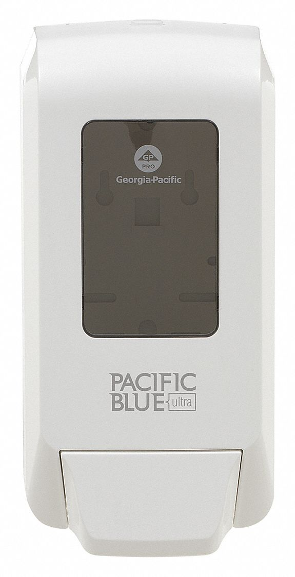 GEORGIAPACIFIC SoapSanitizer DispenserWhitePlastic 52PG17