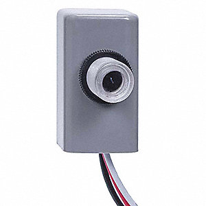 "Photocontrol, 105 to 305VAC Voltage, 1000 Max. Wattage, 3/8""-18 NPSM Thread Mounting"