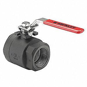 "Ball Valve,1-1/4"" Size,CS,Full Port"