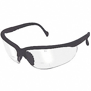 Clear Anti-Fog Reading Glasses, +2.5 Diopter