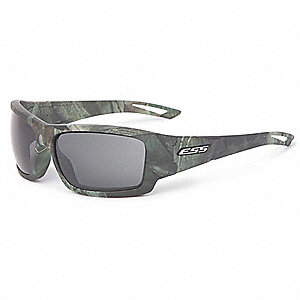 Credence Reaper Woods w/Smoke Gray Lenses Scratch-Resistant Safety Glasses, Smoke Gray Lens Color