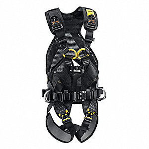 Full Body Harness with 308 lb. Weight Capacity, Black, L
