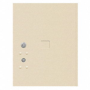 Replacement Door and Lock for 4C Horizontal Mailboxes&#x3b; Includes: Tenant Lock, (3) Keys