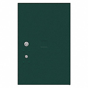 "Replacement Door and Lock,20-3/4""H/Green"