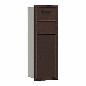 "Mailbox,Rear Loading,41"" H,1 Door,60 lb."
