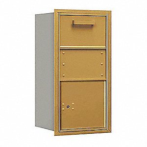 "Mailbox,4C/Private,1 Door,30-1/2"" H"