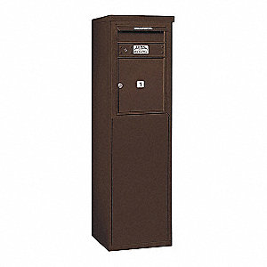 "Mailbox,4C/Private,1 Door,55-1/4"" H"