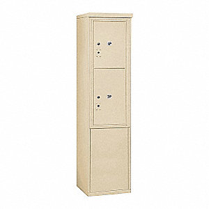 "Mailbox,4C/Private,2 Doors,19""Dx69-1/4""H"