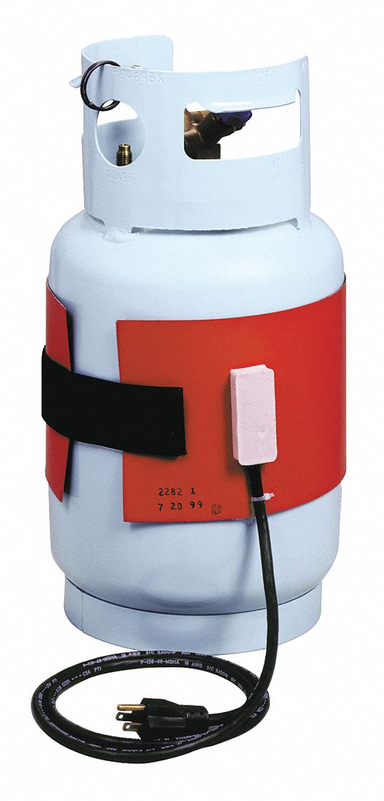 Refrigerant Tank Heater, For Use With 30 to 50 lb Refrigerant Tanks