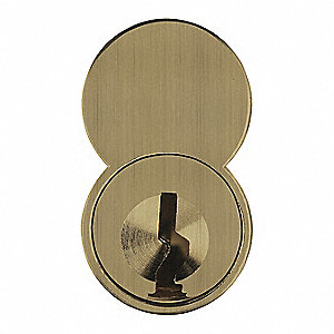 Interchangeable Core,Bright Brass