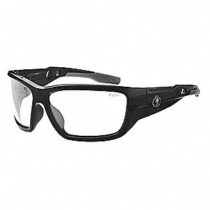 SKULLERZ Anti-Fog, Scratch-Resistant Safety Glasses, Clear Lens Color
