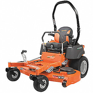 "22 HP Zero Turn Mower, 48"" Cutting Width, 1"" to 5"" Cutting Height, 0"" Turning Radius"