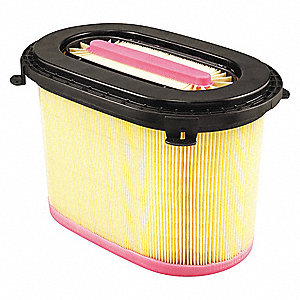 "Air Filter,6-11/16"" H,Oval"