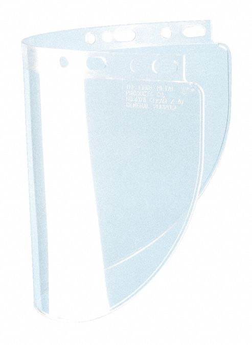 Faceshield Visor,  For Use With Honeywell Protector Shield Headgear