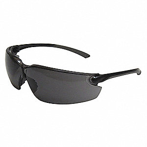 Kramer VP Anti-Fog Safety Glasses, Gray Lens Color