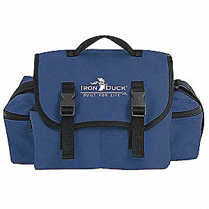 "Trauma Bag,Navy,17"" L,9"" W"
