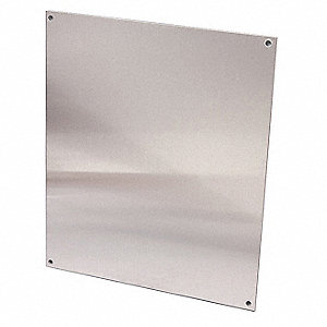 "Back Panel,21.00"" L,Galvanized Steel"
