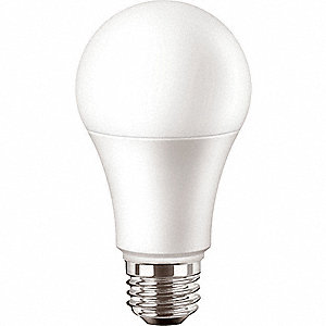 LED Lamp,A19 Bulb Shape,5.7W,460 lm