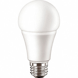 LED Lamp,A19 Bulb Shape,13.5W,1100 lm