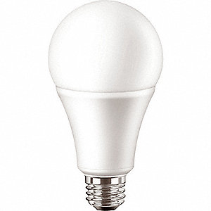 17.5 Watts LED Lamp, A21, Medium Screw (E26), 1600 Lumens, 5000K Bulb Color Temp.