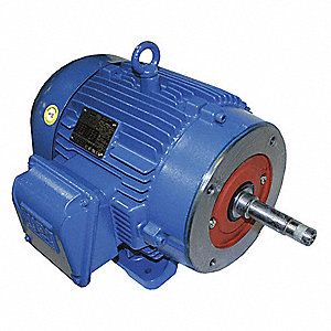 3 HP Close-Coupled Pump Motor,3-Phase,3460 Nameplate RPM,208-230/460 Voltage,143/5JP