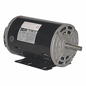1/2 HP General Purpose Motor,3-Phase,3490 Nameplate RPM,Voltage 230/460,Frame 56