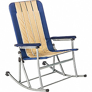 "25"" x 31"" Chair with 300 lb. Weight Capacity; Blue"