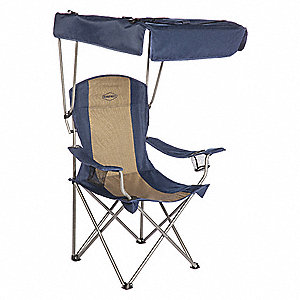 "20"" x 34"" Chair with 300 lb. Weight Capacity; Blue"