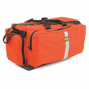 "Trauma/Oxygen Bag,Orange,27"" L"