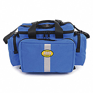 "Trauma Bag, Blue, 18"" L"