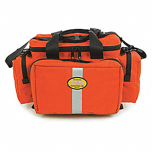"Trauma Bag, Orange, 18"" L"