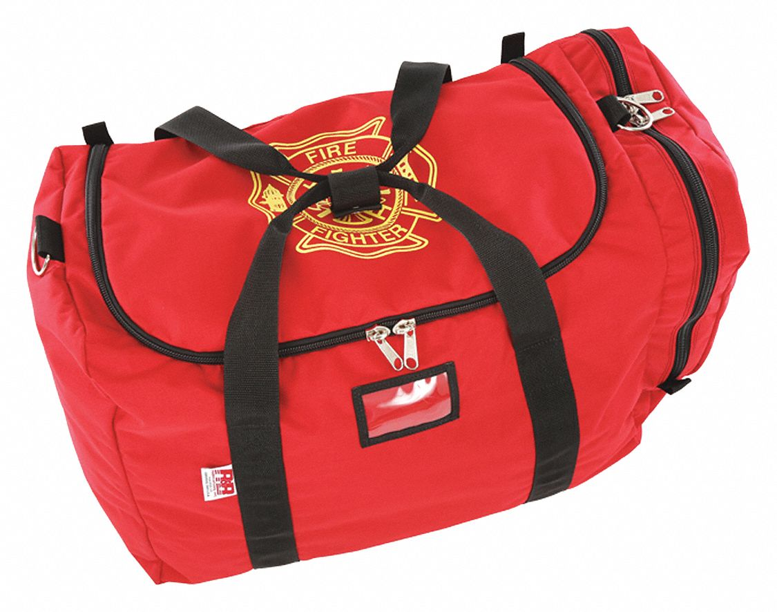 Red Gear Bag,  1000D Cordura(R), Nylon,  Includes Carry Handle, Pocket