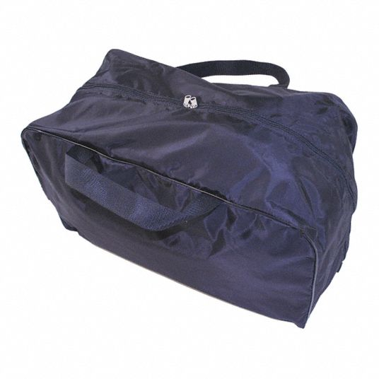 Black Mask Bag,  400 Denier Nylon,  Includes Handle,  3,700 cu in Storage Capacity,  24 in Length